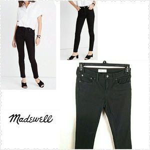 Madewell Skinny Skinny Black Jeans